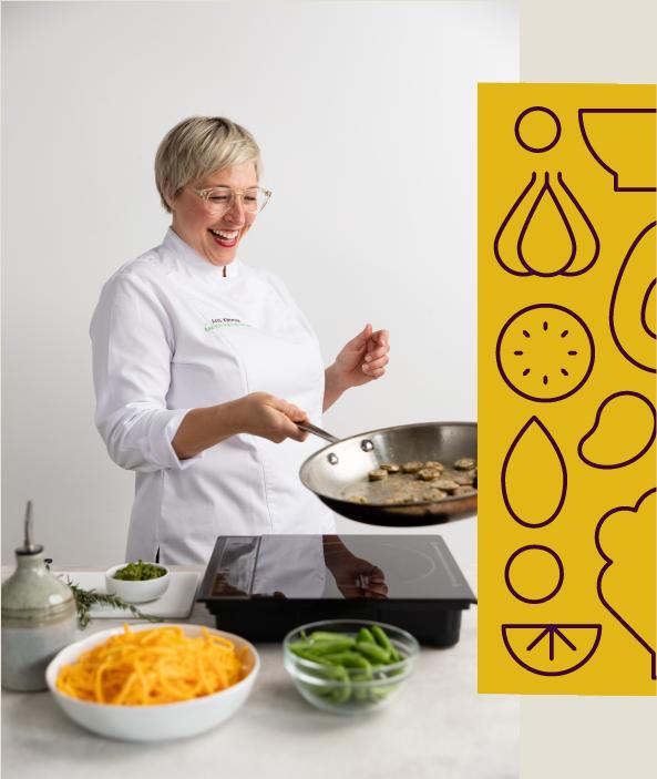 Anna Klimmek cooking